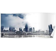 South Bank Fog. Poster