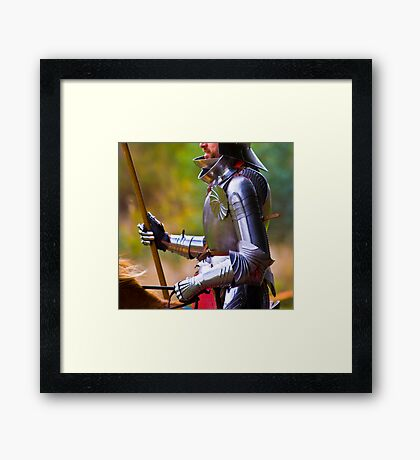 Perfect Knight Framed Print