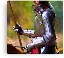 Perfect Knight Canvas Print