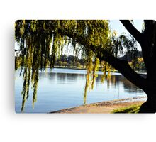 Lake Burley Griffin Canvas Print