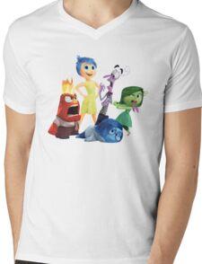 inside out Mens V-Neck T-Shirt