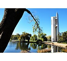 National Carillion & Lake Burley Griffin. Photographic Print
