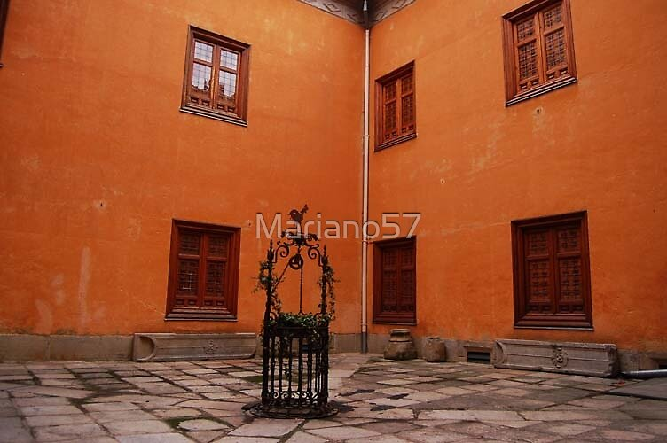 Courtyard Color by Mariano57
