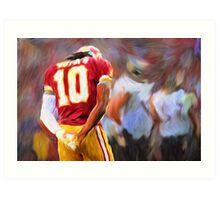 RG3 - NFL - Washington Redskins Art Print