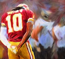 RG3 - NFL - Washington Redskins by kyddco