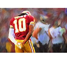 RG3 - NFL - Washington Redskins Photographic Print