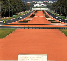 Anzac Parade, Canberra. by lu138