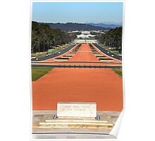 Anzac Parade, Canberra. Poster