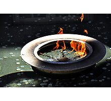 Eternal Flame. Photographic Print