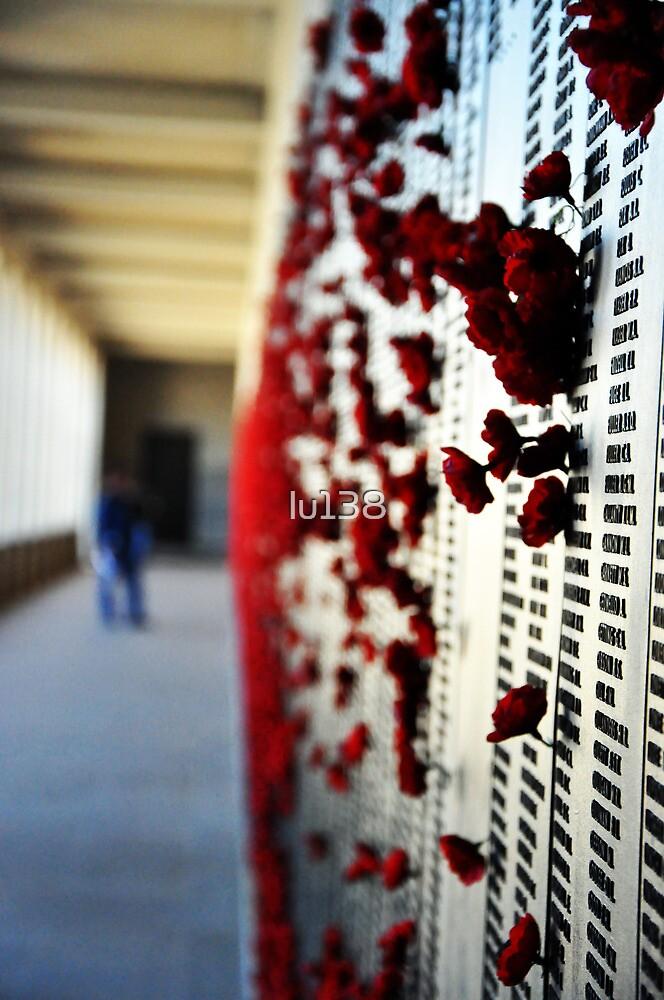 Wall of Honour, Australian War Memorial. by lu138