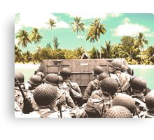 Approaching Paradise Canvas Print