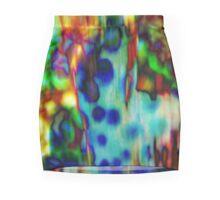 4504 Ocean abstract Mini Skirt