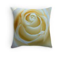 Sweet Cream Throw Pillow