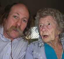 Me + My 94 yo Mum  Mother's Day 2010 by mando13