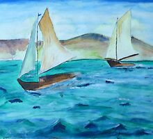 Sailing Free by Monica Engeler