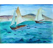 Sailing Free Photographic Print