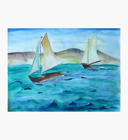 Sailing Free Photographic Print