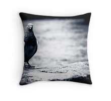 ...just watching... Throw Pillow
