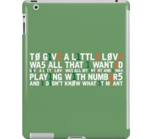 Molly Sterling - Playing with Numbers [Eurovision] iPad Case/Skin