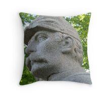 Sharpshooter's Eyes Throw Pillow