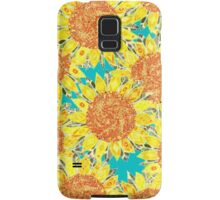 sunflower field Samsung Galaxy Case/Skin