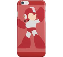 Mega Man (Red) iPhone Case/Skin