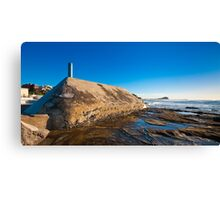 Sunrise from Newcastle Baths Canvas Print