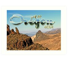 All of Oregon is not Forest & Ocean Art Print