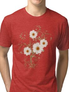 Summer Flowers Tri-blend T-Shirt