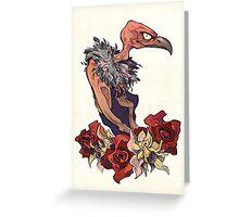 Madame Vautour Greeting Card