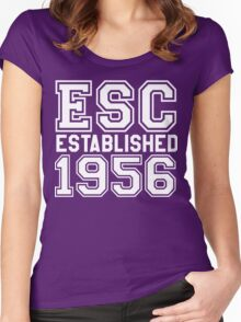 Eurovision est 1956 Women's Fitted Scoop T-Shirt