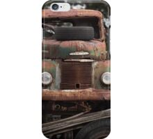 Old Truck at Salvage Yard  iPhone Case/Skin