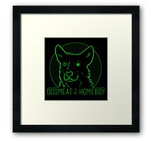 Dogmeat is my Homeboy Framed Print
