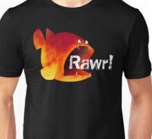 Fish Rawr! Funny Unisex T-Shirt
