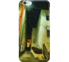 Night Alleyway iPhone Case/Skin