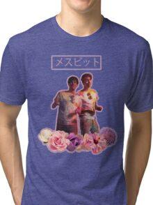 Phan-Aesthetic-Flower Design Tri-blend T-Shirt