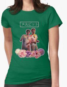 Phan-Aesthetic-Flower Design Womens Fitted T-Shirt