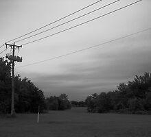 Power Lines, Cloud Lines by Jeffery W. Turner