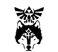 Zelda Twilight Princess - Wolfs eye Photographic Print