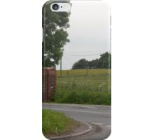 The Phone Box On The Corner iPhone Case/Skin