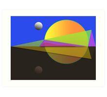 Horizon Zone 1 Art Print