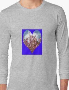 Pink Tree Blossoms Long Sleeve T-Shirt