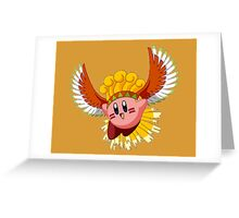 Ho-Oh Kirby Greeting Card