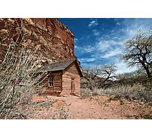 Fruita School House Photographic Print