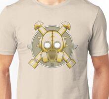 Art Deco Gasmask (Transparent) Unisex T-Shirt