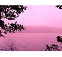 Windermere in Pink Photographic Print