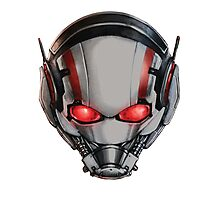 ANT-MAN COOLEST MASK EVER!!! Photographic Print