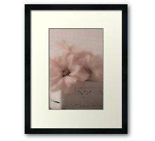 Dahlias - Oh So Soft! Framed Print