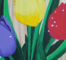 Spring Tulips  Sticker