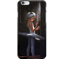 Thoughts before audition iPhone Case/Skin